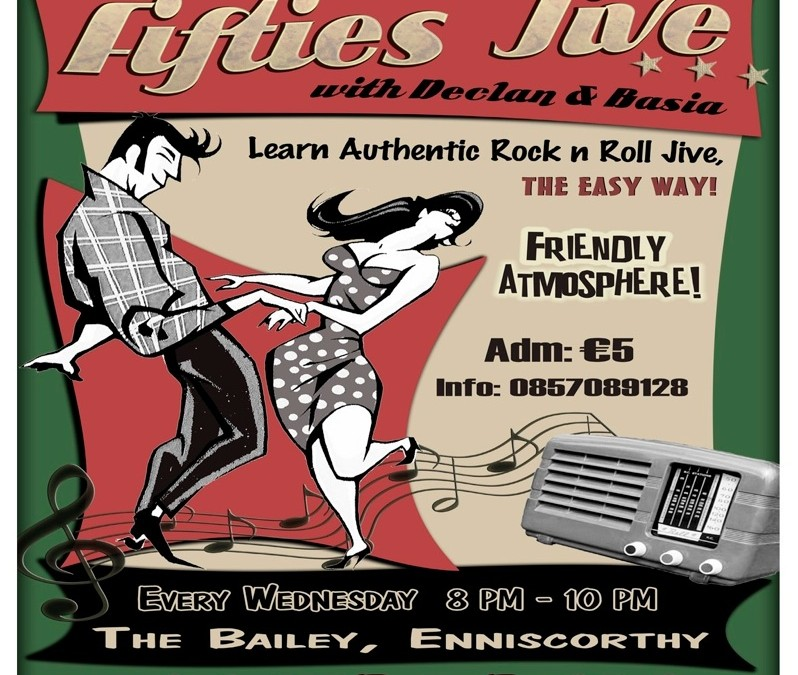Fifties jive dance classes at The Bailey every Wednesday