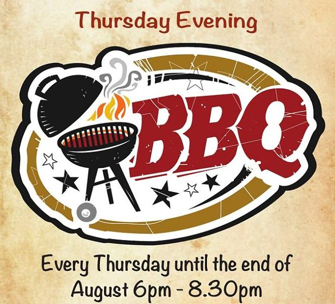 Summer BBQ every Thursday
